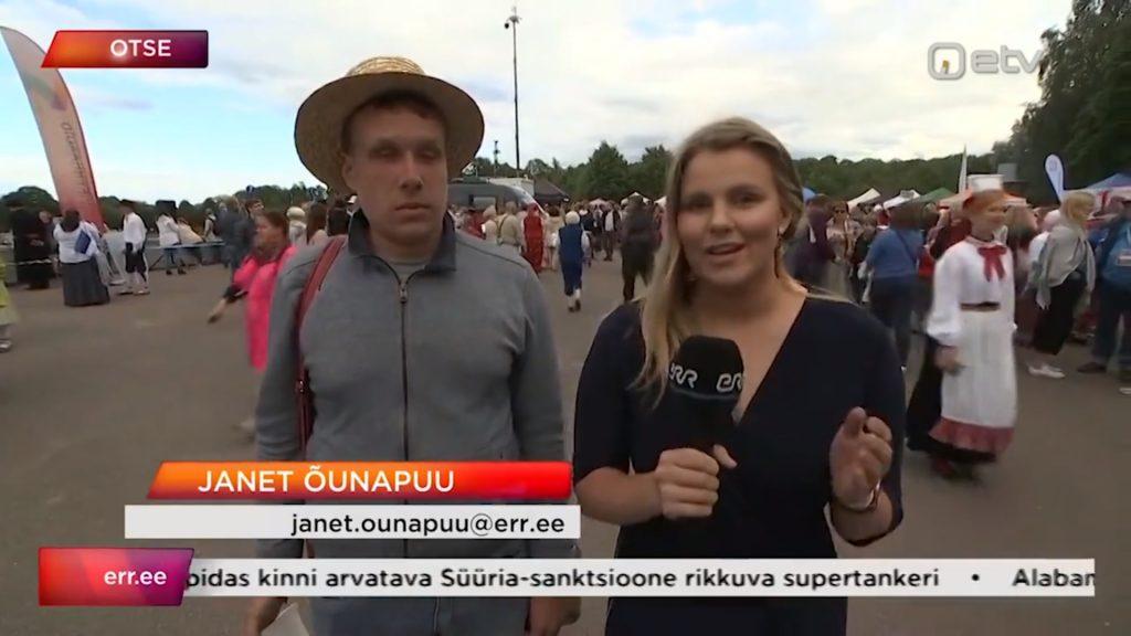 Igaunijas neredzīgo pārstāvis