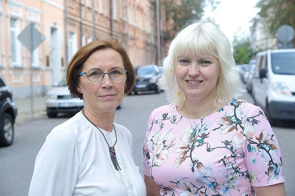 Elita Kuzmina un Solvita Upeniece
