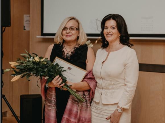 Jolanta Kalniņa un Ramona Petraviča