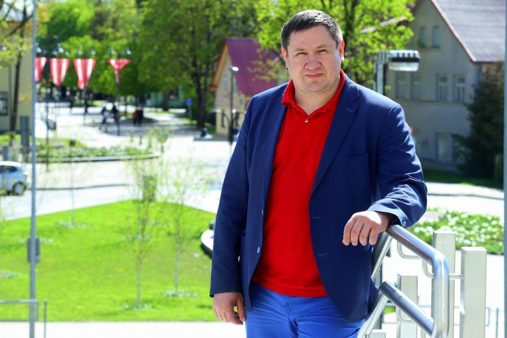 Ogres domes priekšsēdētājs Egils Helmanis