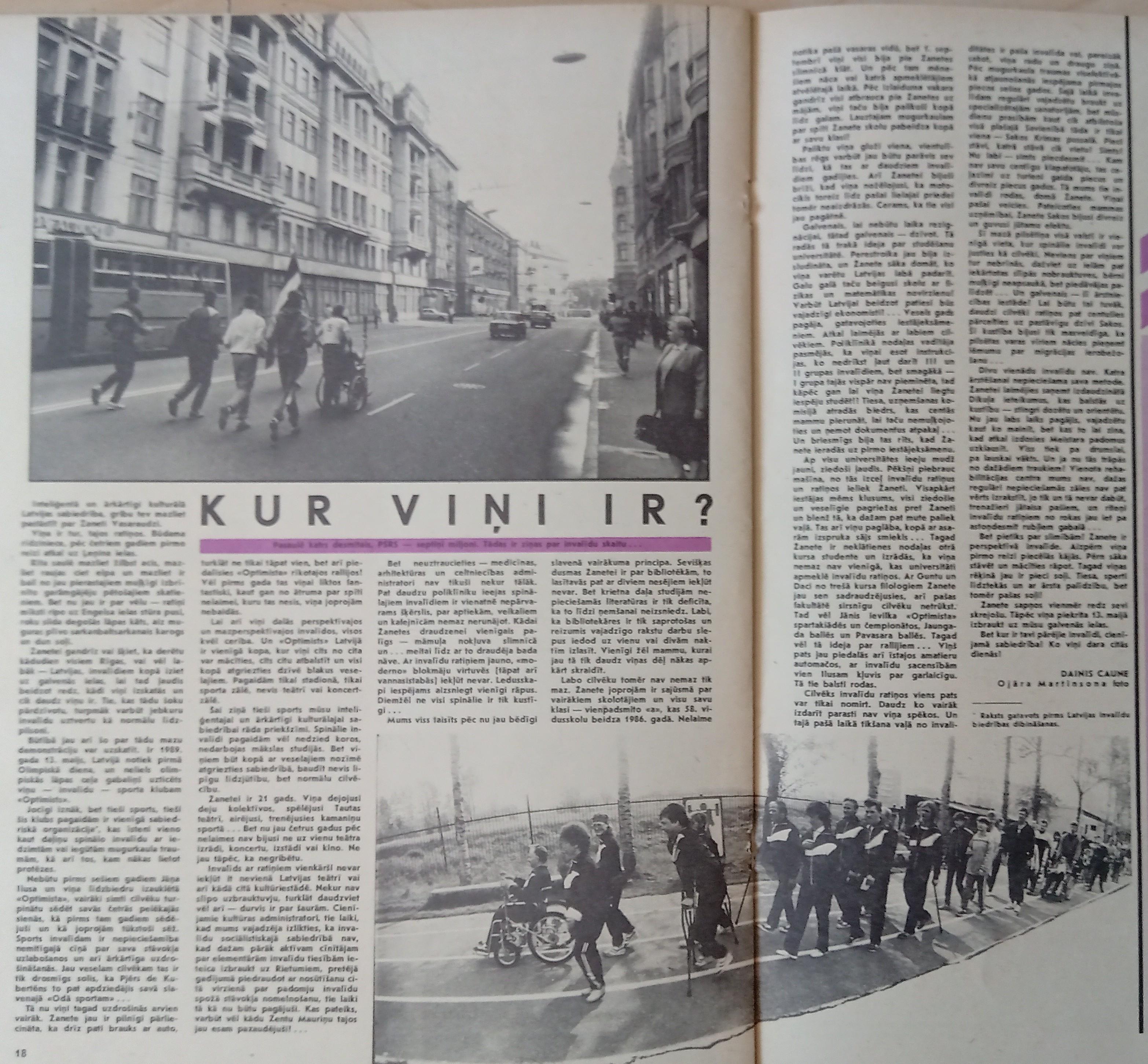 raksts žurnālā Liesma 1989. gads
