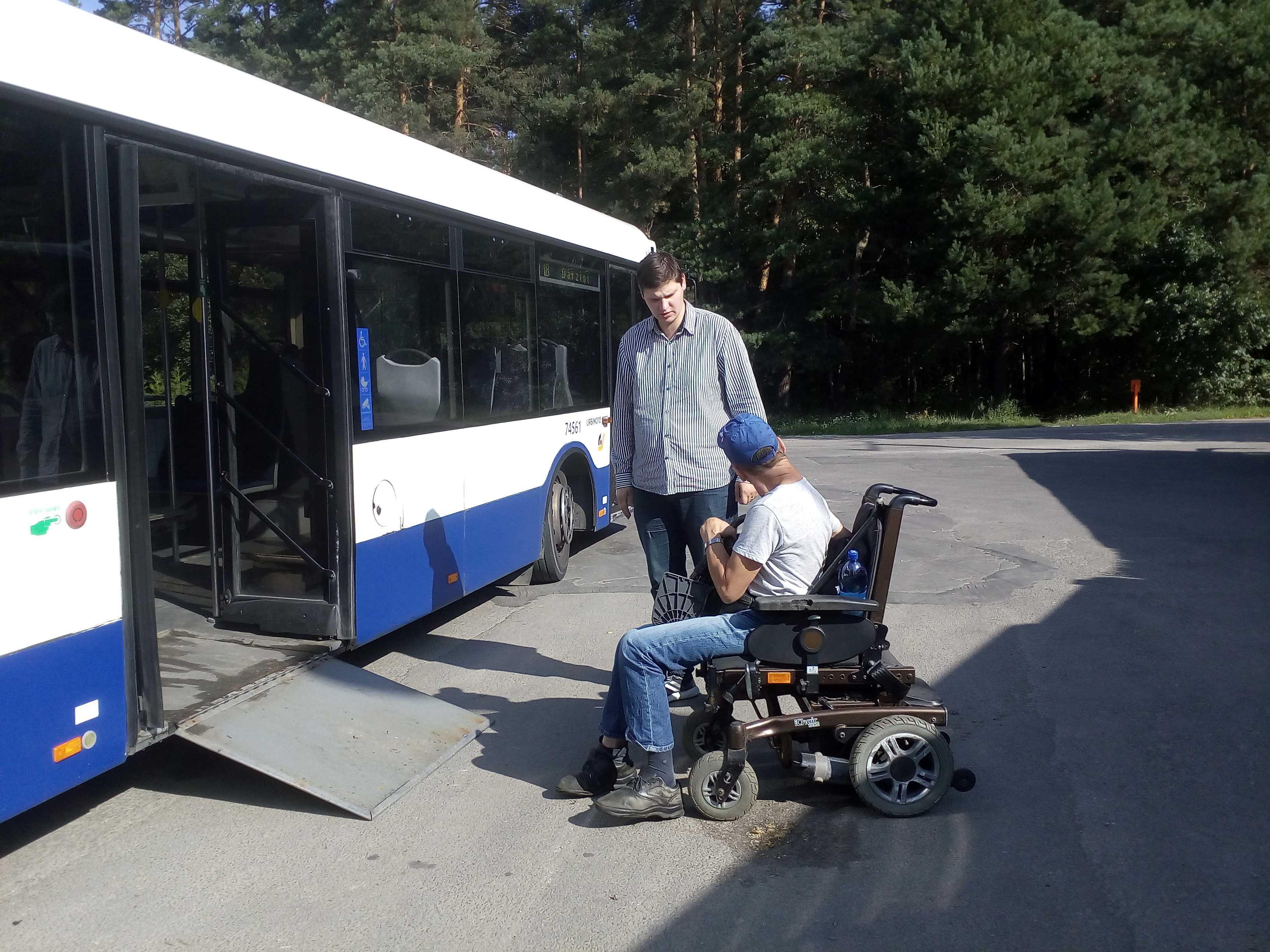 autobusa galapunkts