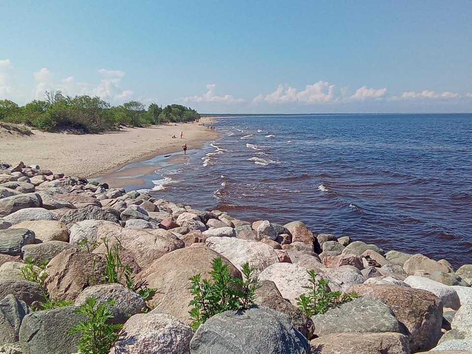 Skats uz pludmali