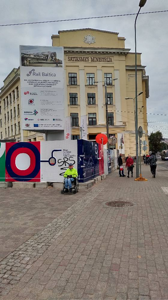 pie Rail Baltic un satiksmes ministrijas